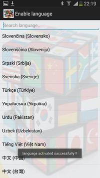 Enable language apk screenshot