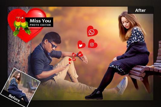 Miss You Photo Frame screenshot 5