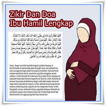 Zikir Dan Doa Ibu Hamil Lengkap poster
