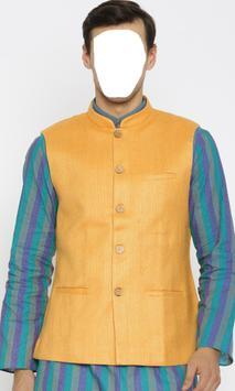 Nehru Jacket Fashion Wear poster