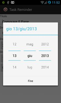 Task Reminder - Promemoria screenshot 3