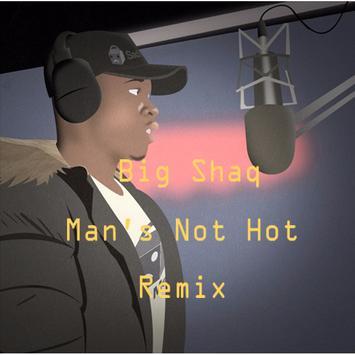Big Shaq poster