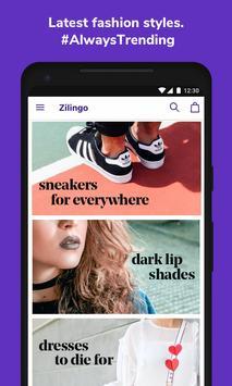 Zilingo Online Shopping poster
