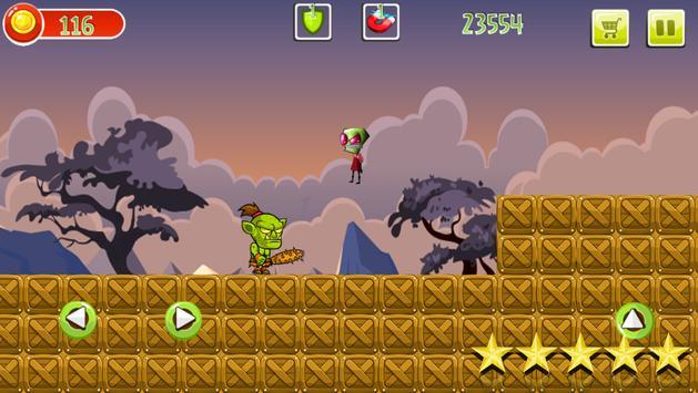 Zim vs Monsters in the jungle screenshot 1