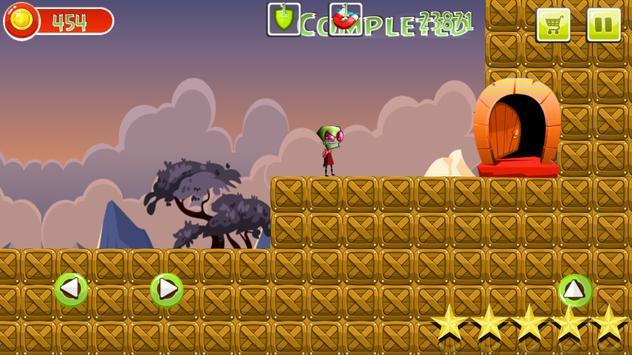 Zim vs Monsters in the jungle screenshot 2