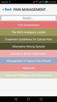 NHS PAIN & SYMPTOM CONTROL GUIDELINES screenshot 1