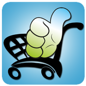 thumbcart - online grocery icon