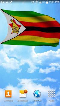 Zimbabwe flag live wallpaper screenshot 1