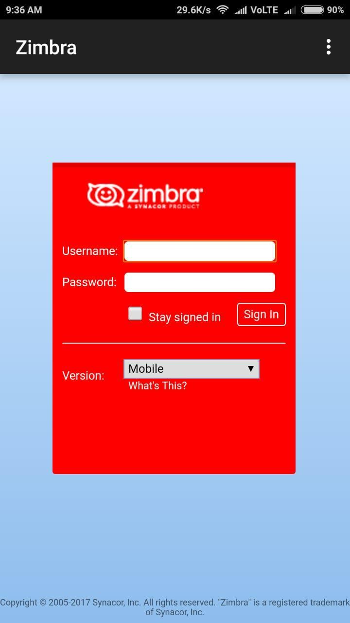 Zimbra for Android - APK Download