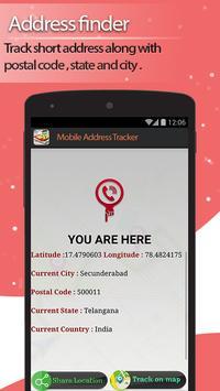Live Mobile address tracker screenshot 4