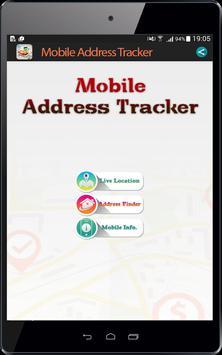 Live Mobile address tracker screenshot 8