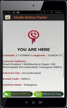 Live Mobile address tracker screenshot 10