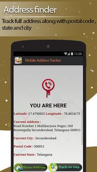 Live Mobile address tracker screenshot 1