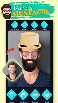 Men Beard Hairstyle Photo Editor screenshot 3