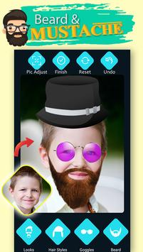 Men Beard Hairstyle Photo Editor screenshot 4