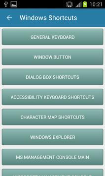 Computer Shortcut Keys Guide apk screenshot