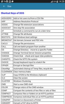 Computer Shortcut Keys Guide screenshot 21