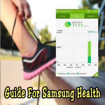Guide for Samsung Health screenshot 4