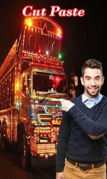 Pak Truck Photo Editor – Pakistani Truck Cut Paste poster