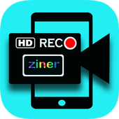Ziner HD simple screen recorder - (No Root) icon