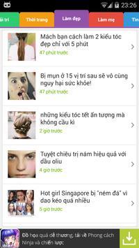 Tin tức phái đẹp apk screenshot