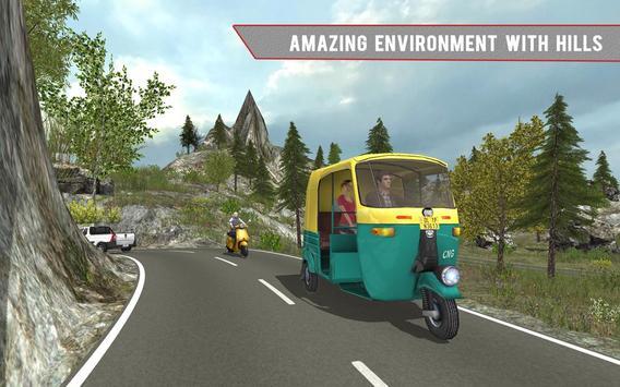 Tuk Tuk Auto Rickshaw Off Road apk screenshot