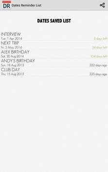 Dates Reminder screenshot 10