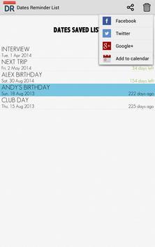 Dates Reminder screenshot 11