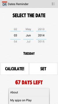 Dates Reminder screenshot 2