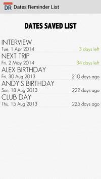 Dates Reminder screenshot 3