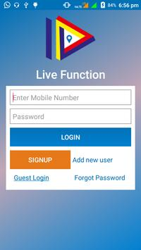 LIVE FUNCTION screenshot 1