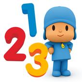 Pocoyo Numbers 1, 2, 3 Free icon