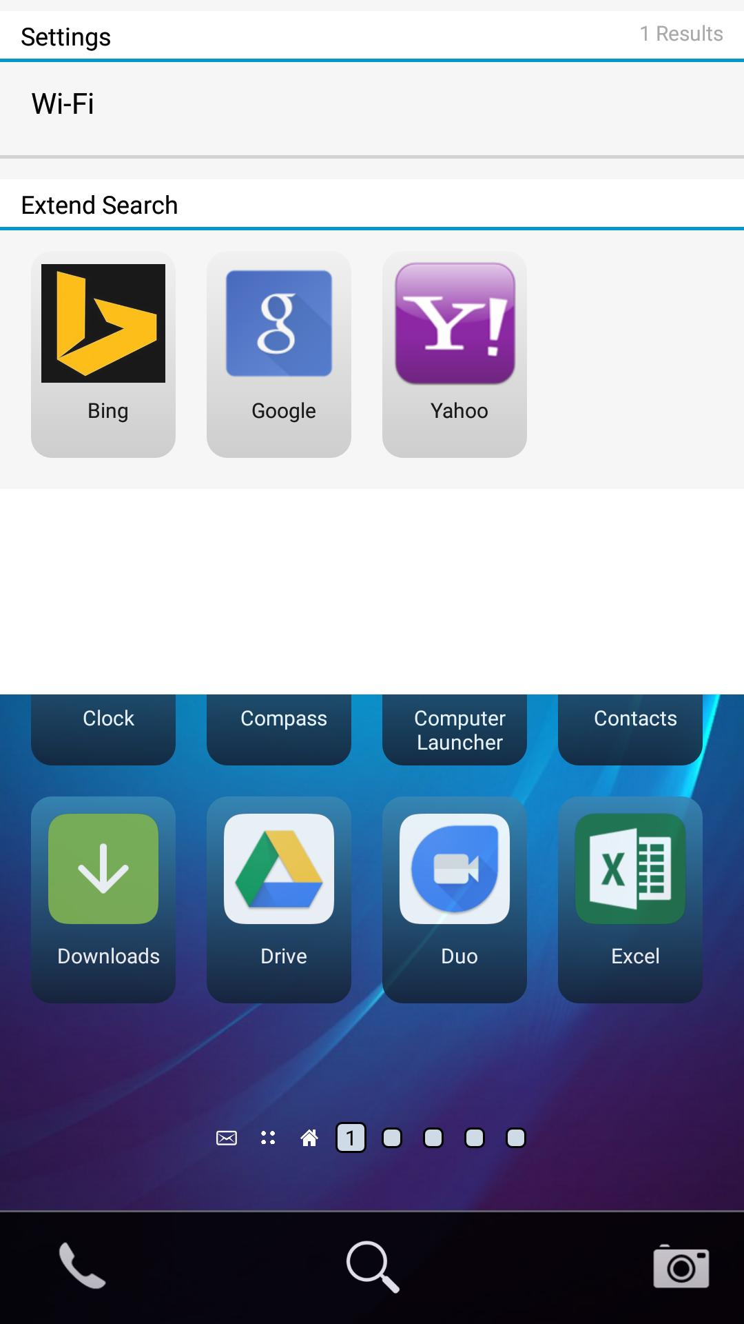 ZINQS Launcher for BlackBerry 10 Users for Android - APK