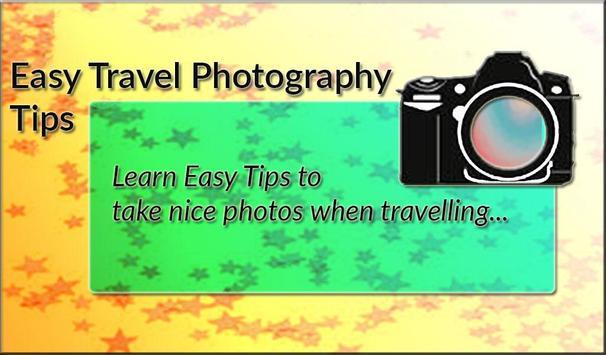 Easy Travel Photography Tips apk screenshot