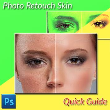 Photo Retouch Skin Quick Guide poster