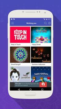Wishing Diwali & New Year Greetings 2018 apk screenshot
