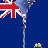 Cayman Islands flag Lockscreen icon