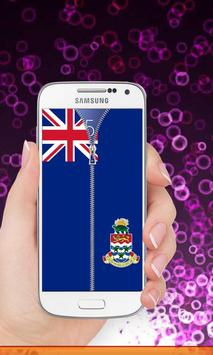 Cayman Islands flag Lockscreen screenshot 7