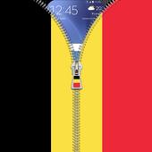 Belgium flag zip Lock Screen icon