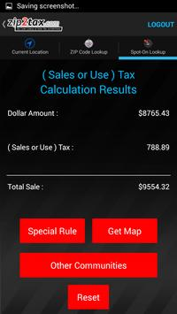 Zip2Tax screenshot 7