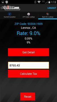 Zip2Tax screenshot 6