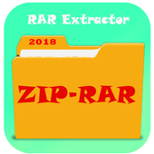 Zip &  Rar Files Extractor : easiest,fatest tool icon