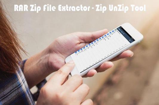 Zip &  Rar Files Extractor : easiest,fatest tool screenshot 5