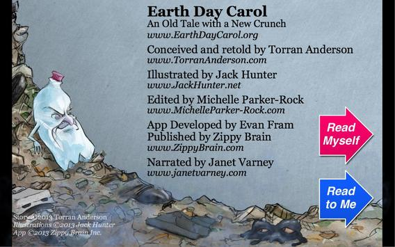 Earth Day Carol poster