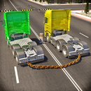 Chained Trucks against Ramp APK