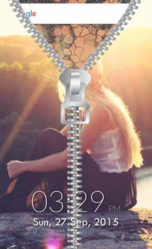 Zipper Lock Screen apk screenshot