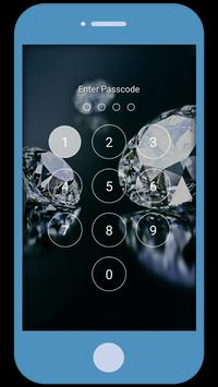 Diamond Love Zipper LockScreen screenshot 2