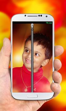 My Photo Zipper Lock Screen poster