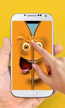 Funny Zipper Lock Screen apk screenshot