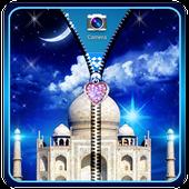 Taj Mahal Zipper Lock Screen icon